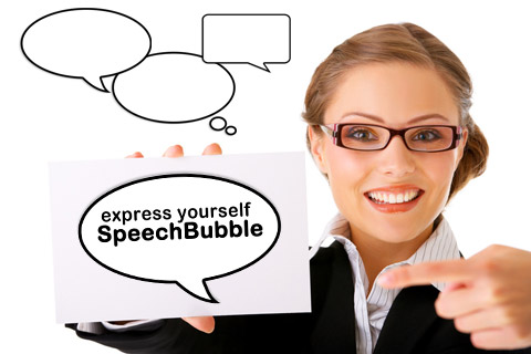 speech bubble comics